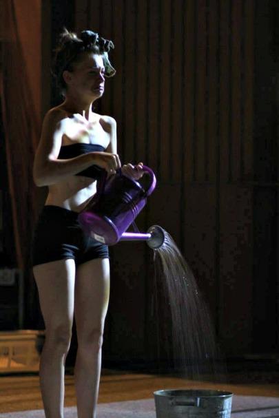 Performance artist, Julia Krauss (2014)